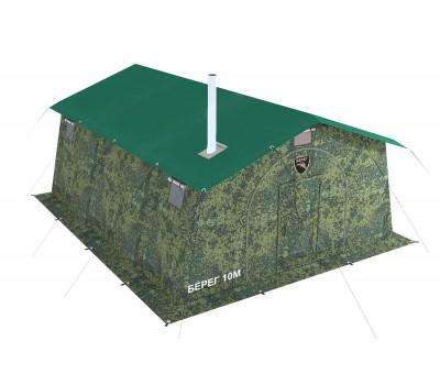 Армейская палатка БЕРЕГ- 10М1 4,1м х 5,1м