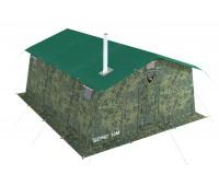 Армейская палатка БЕРЕГ- 10М2 4,1м х 5,1м (10М1+внут.тент)
