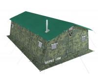 Армейская палатка БЕРЕГ- 15М1 4,1м х 6,8м (однослойная)