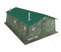 Армейская палатка БЕРЕГ- 30М2  6,75м х 6м  (30М1+внут.тент)