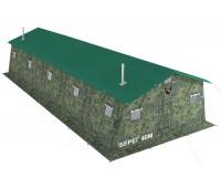 Армейская палатка БЕРЕГ- 40М2  11,25м х 6м (40М1+внут.тент)