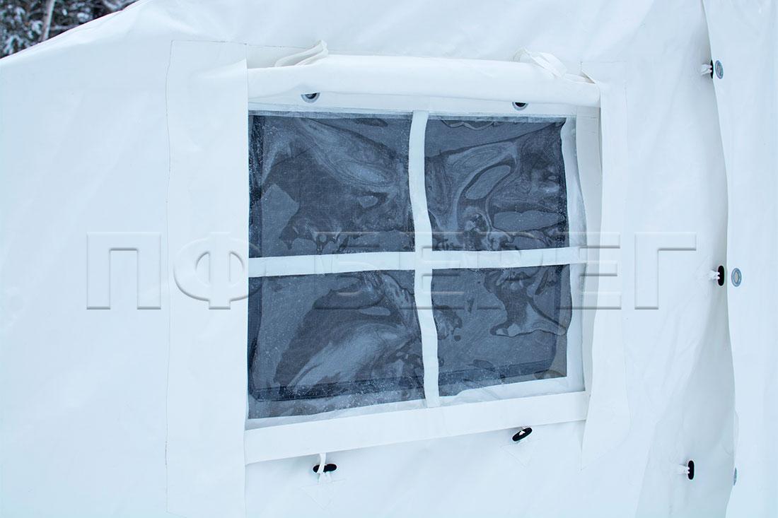 окно палатки МЧС