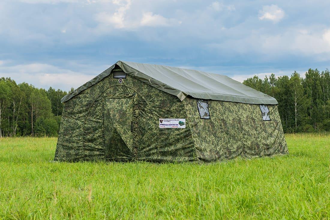 распашная каркасная дверь палатки армейской берег