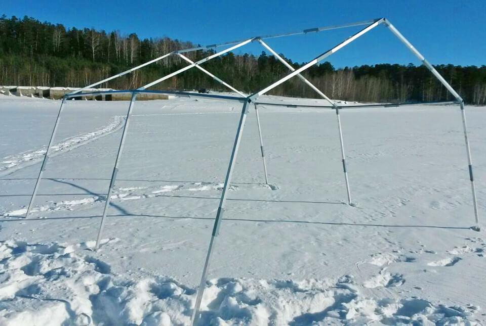 Алюминиевый каркас палатки Берег 5М