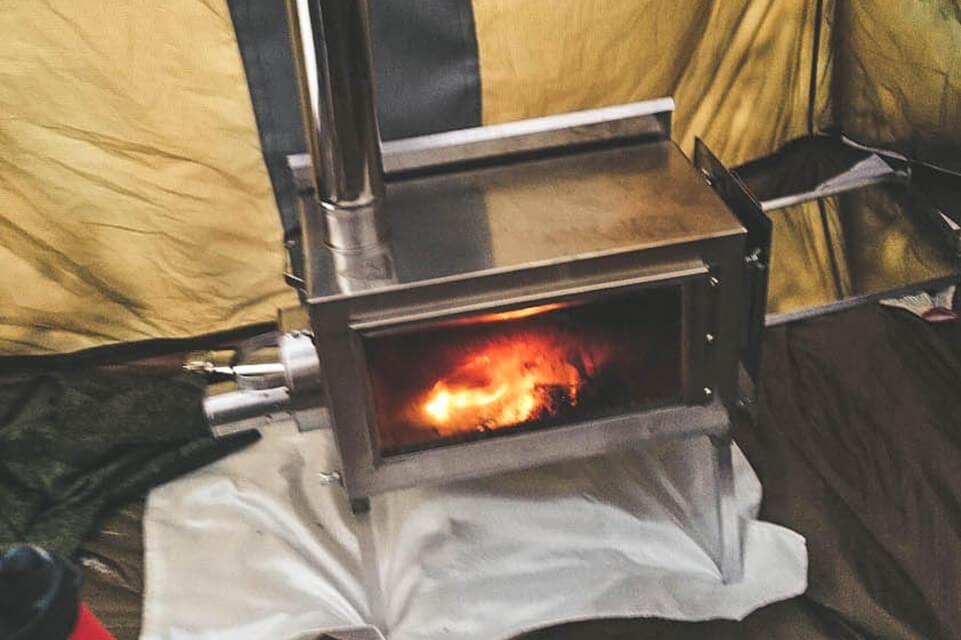 печь камин длительного горения
