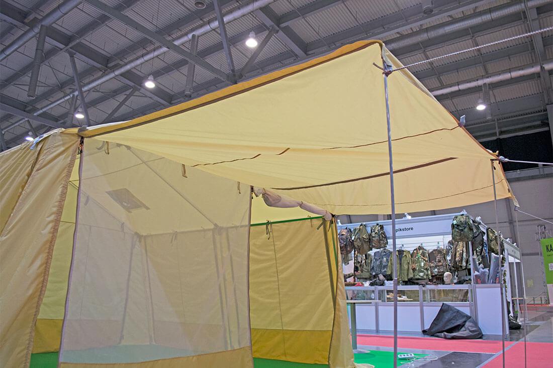 каркасный шатер