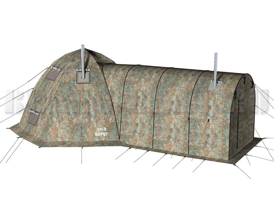 Палатка УП 5 и тамбур 3х2 Берег
