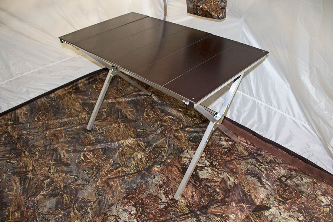 походный складной стол берег