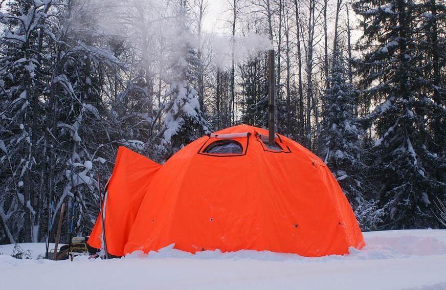 арктическая накидка для палатки