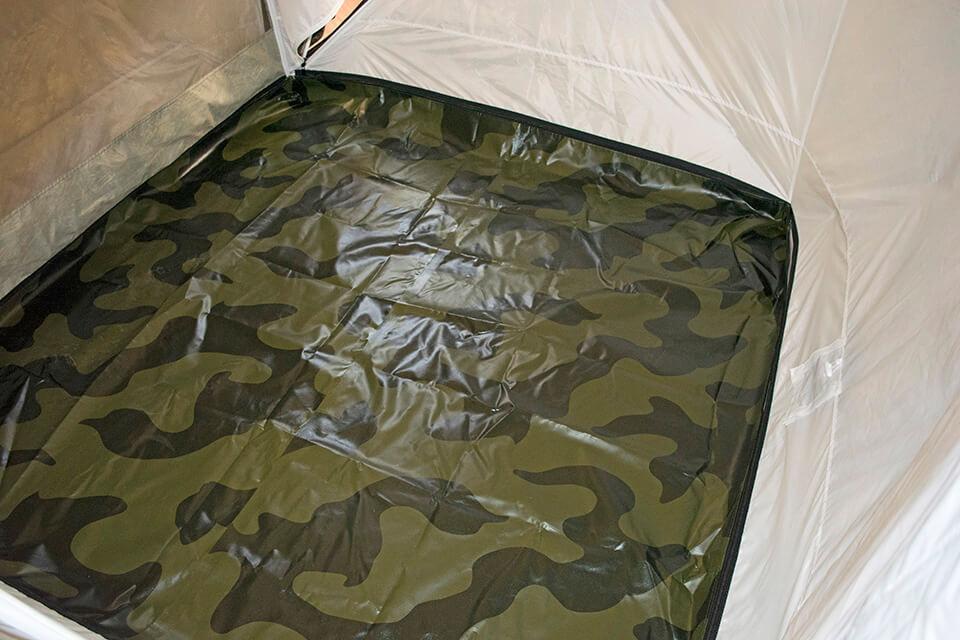 Пол ПВХ водостойкий в палатку Куб