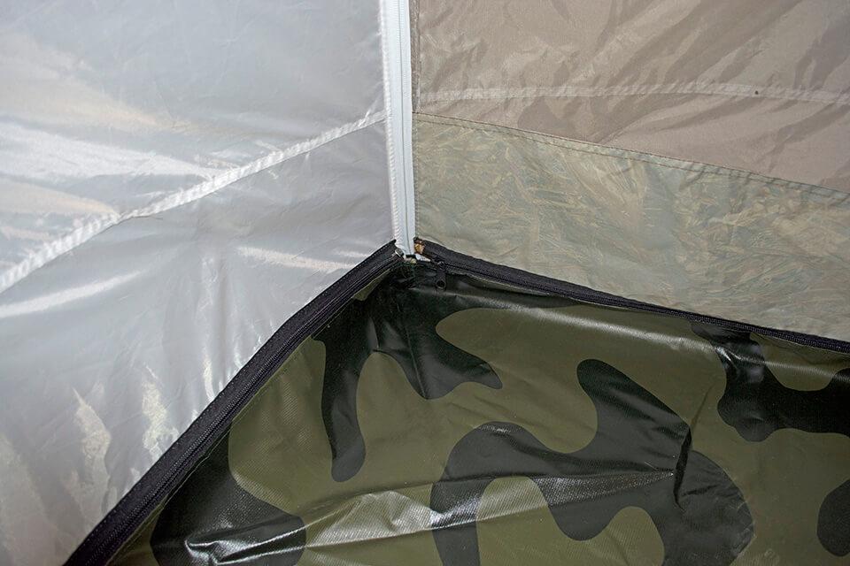 Пол ПВХ в палатку Берег Кубоид