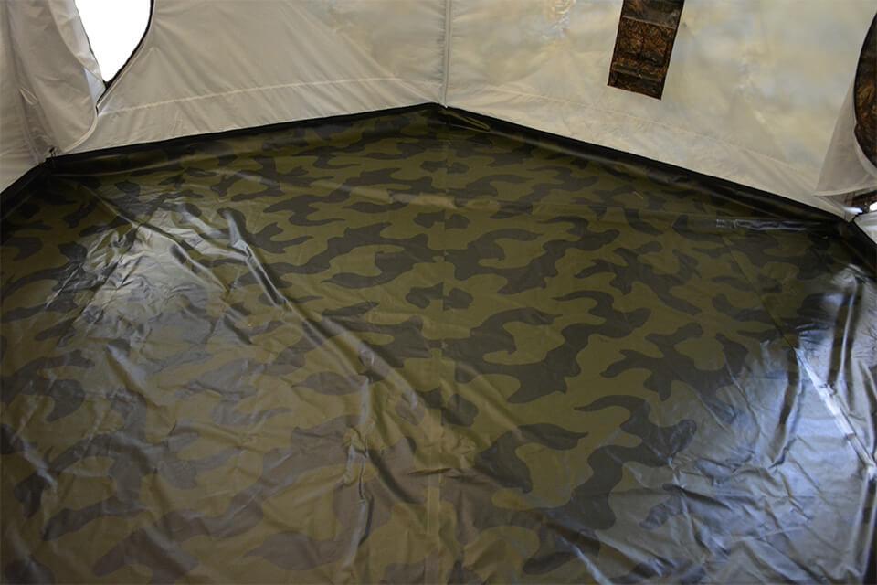 Пол в палатку Гексагон ПВХ