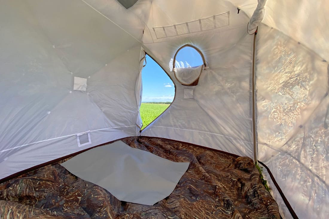 утеплитель в зимней палатке куб 220