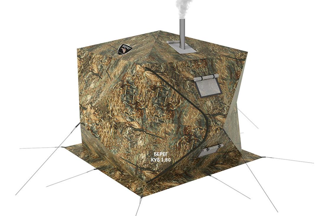 палатка куб берег 180