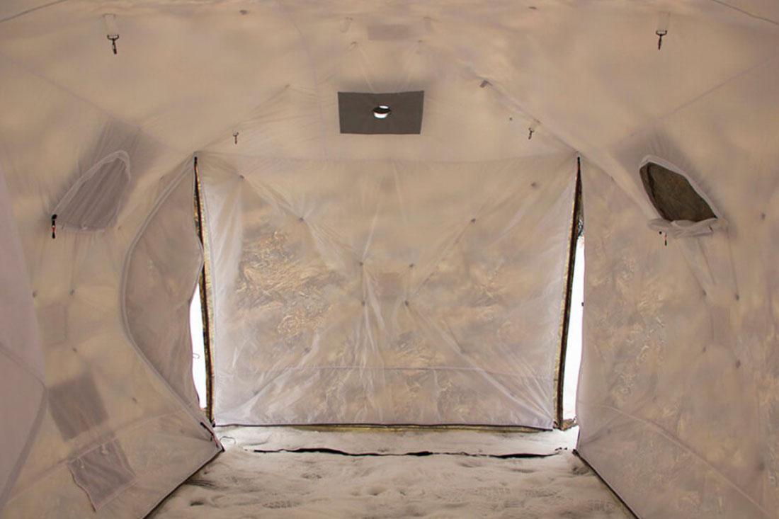 откидная стенка палатки куб берег 360