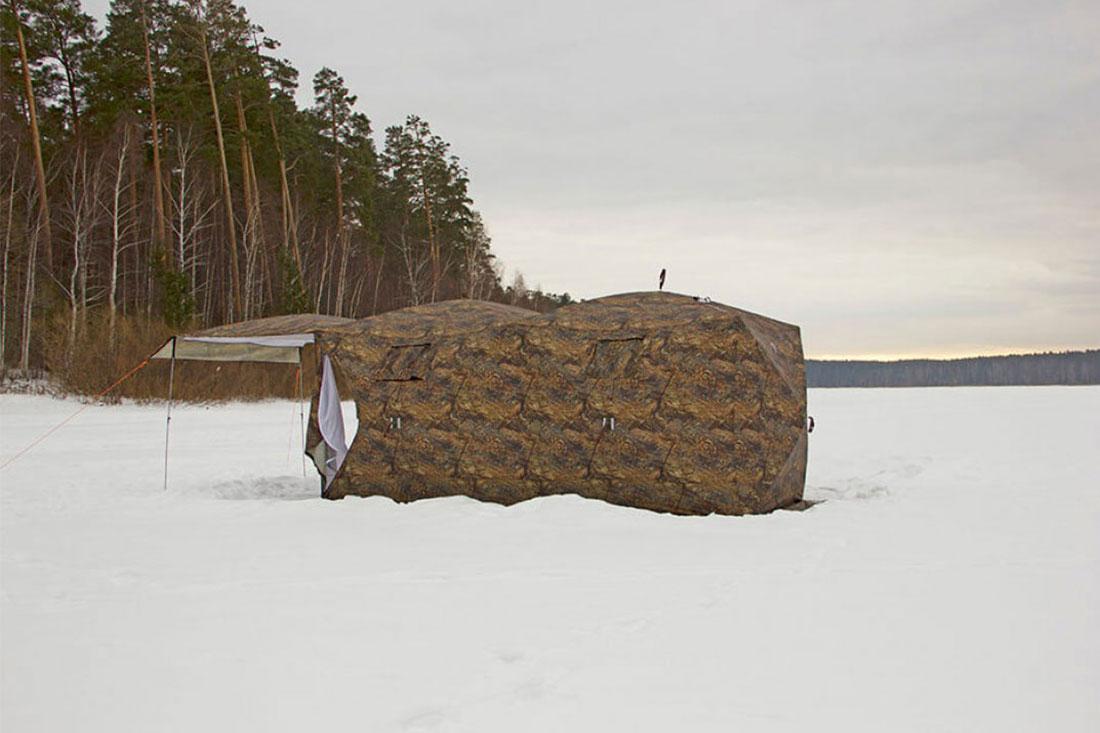 палатка кубоид 3.60 берег