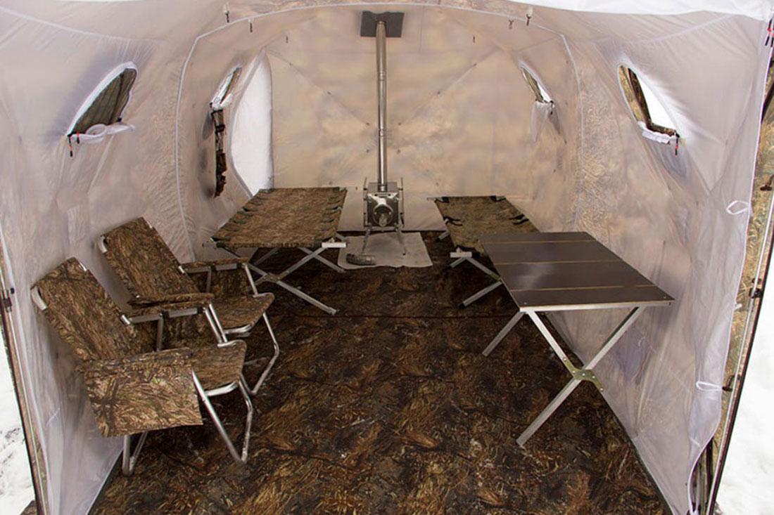 откидная стенка палатки куб берег 440