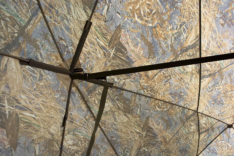 установка палатки куб