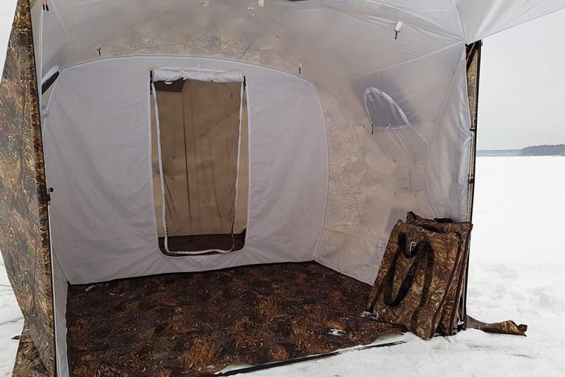 палатка с перегородкой кубоид