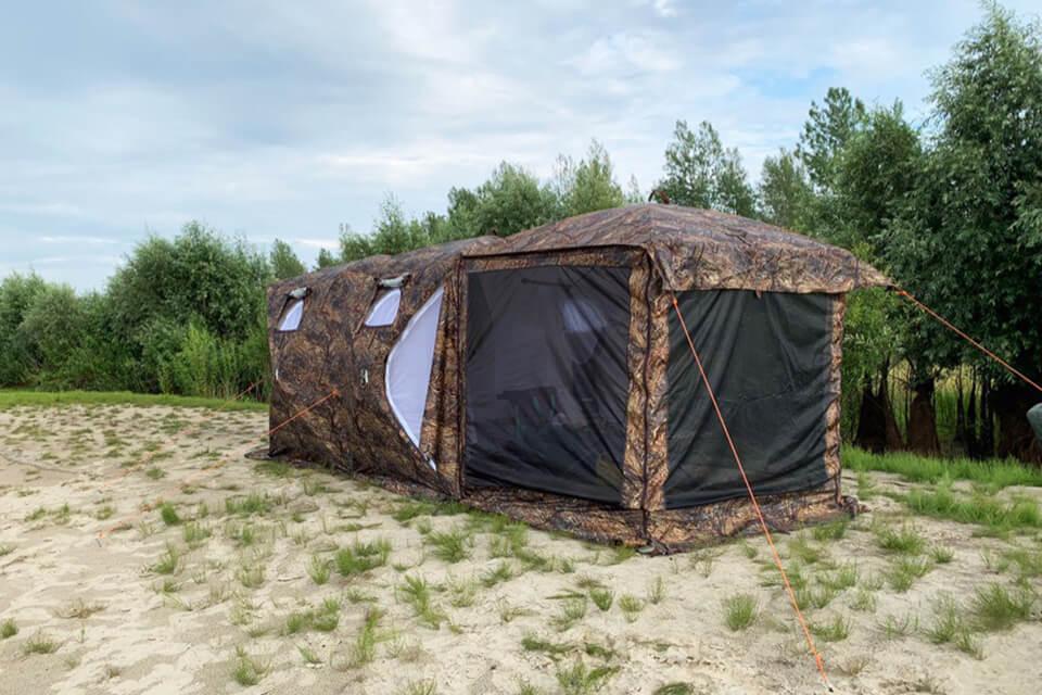 палатка берег кубоид