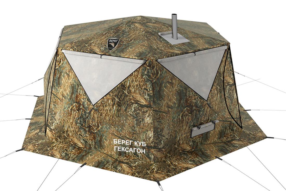 палатка куб гексагон
