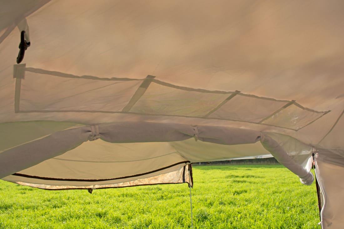 всепогодная палатка куб