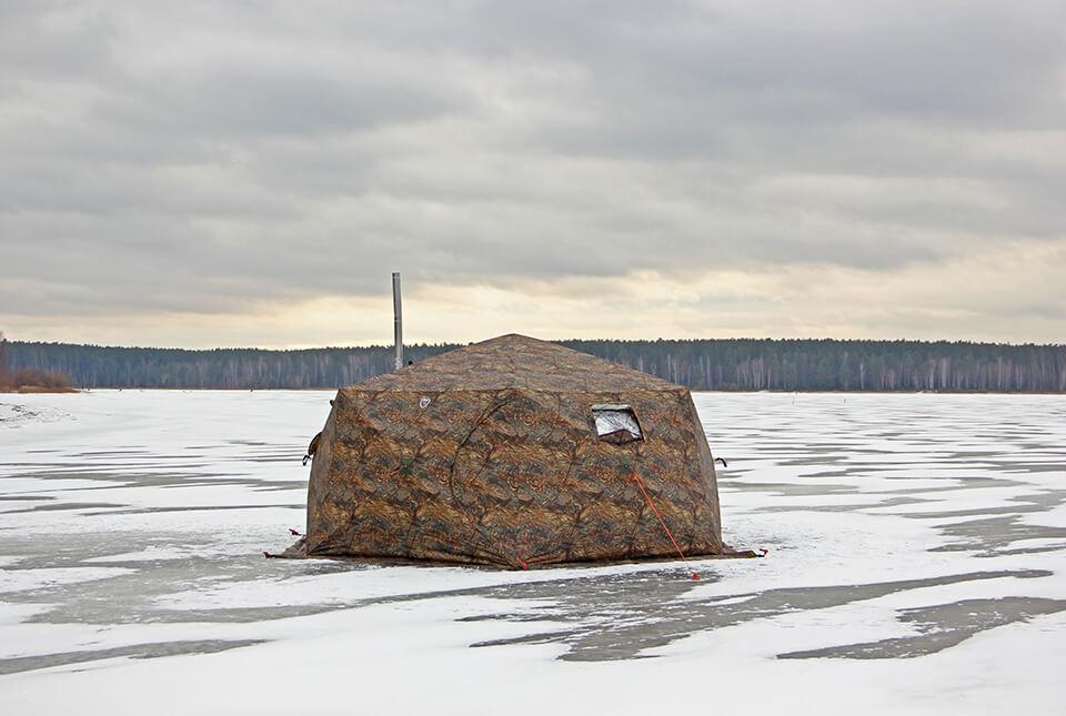 Зимняя палатка Куб Берег