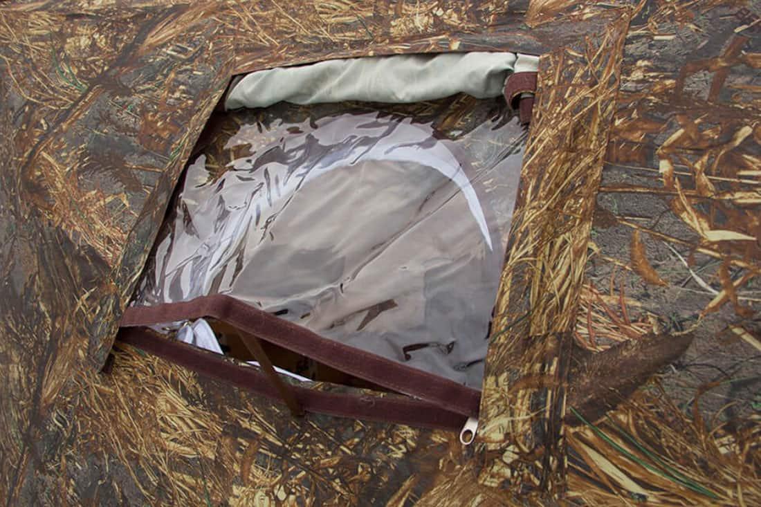 Окно палатки куб гексагон