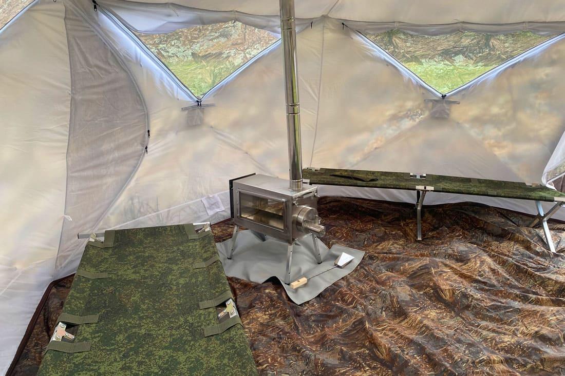 палатка Гексагон берег