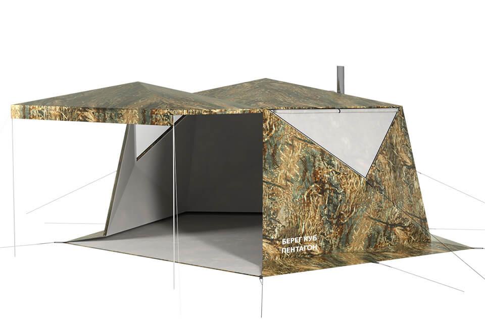 палатка куб пентагон