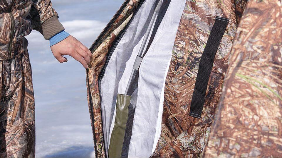 Двойной тент в универсальной палатке