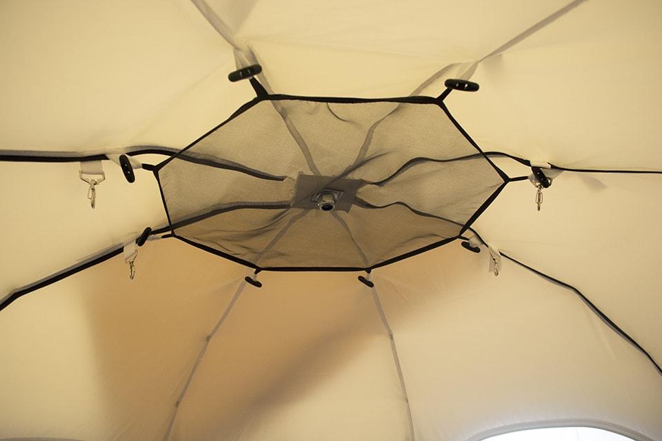Полочка-сетка под куполом палатки УП-2 Люкс